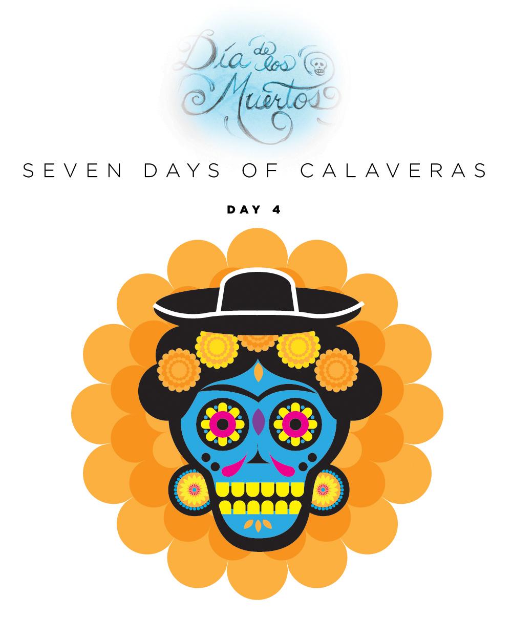 SEVEN days of calaveras day 4