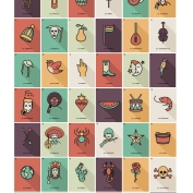 Loteria poster color